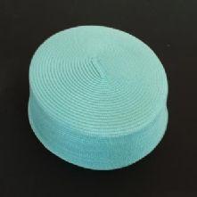 Vintage Style Aqua Pill Box Hat